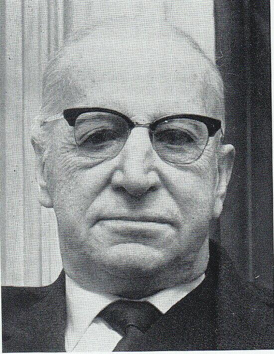 Обер-бургомистр Кёнигсберг Ганс Ломайер  | Фотография 1965 года