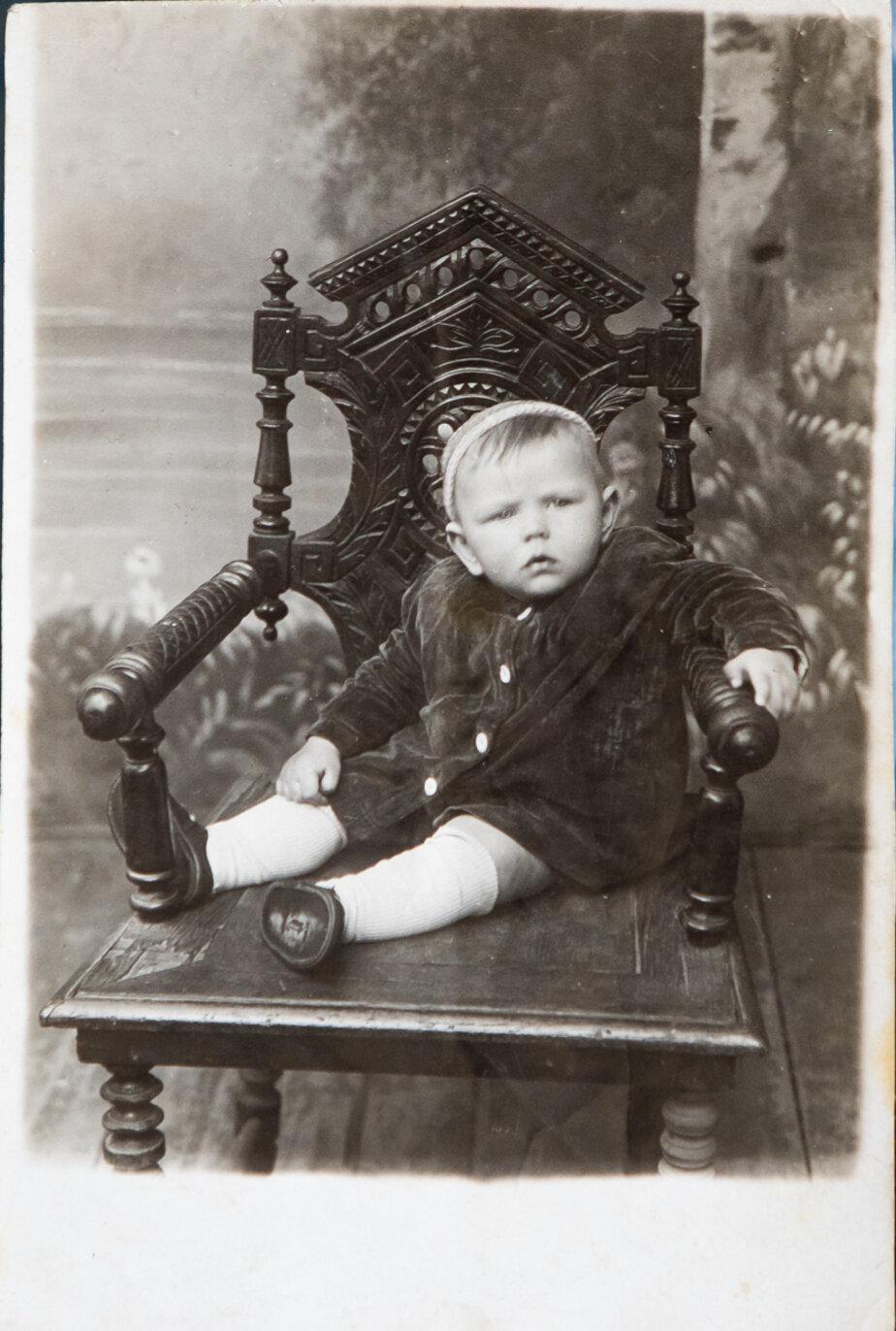 Толя Мамаев. Довоенный снимок | Фото: личный архив