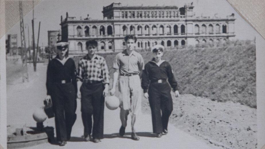 Курсанты калининградской мореходки | Фото: личный архив