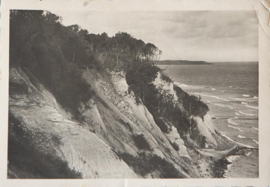 Немецкая открытка: склоны в районе современного Приморья | Фото: личный архив