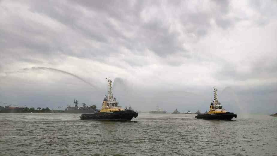 6 судов Балтфлота прибыли в Кронштадт для участия в Дне ВМФ - Новости Калининграда   Фото: пресс-служба ЗВО по Балтфлоту