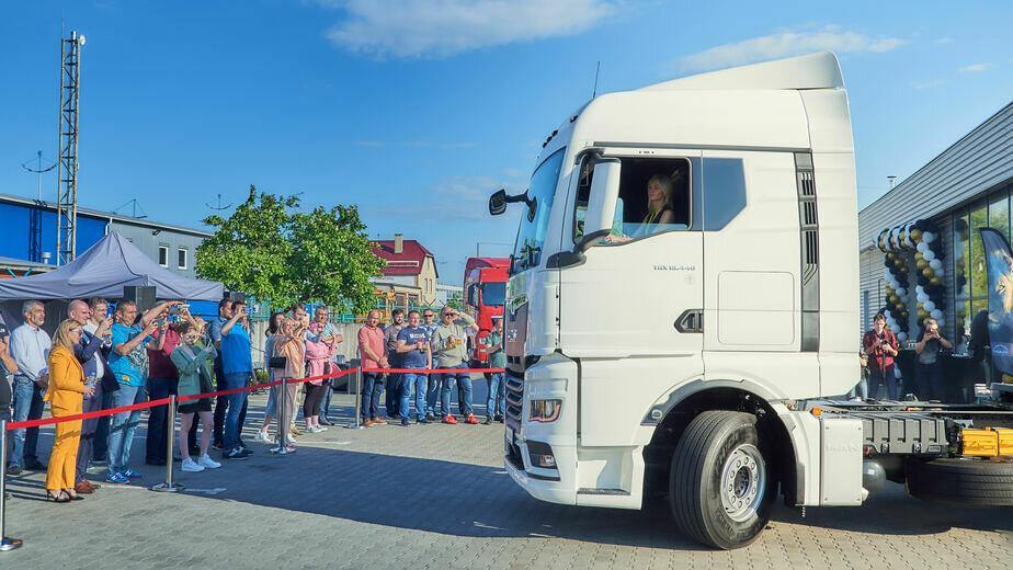 В Калининграде презентовали новую линейку грузовых автомобилей MAN - Новости Калининграда