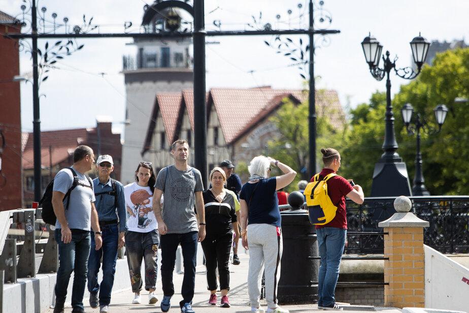 В Калининграде туристы начали спрашивать у гидов сертификаты о прививке  - Новости Калининграда | Фото: Архив «Клопс»
