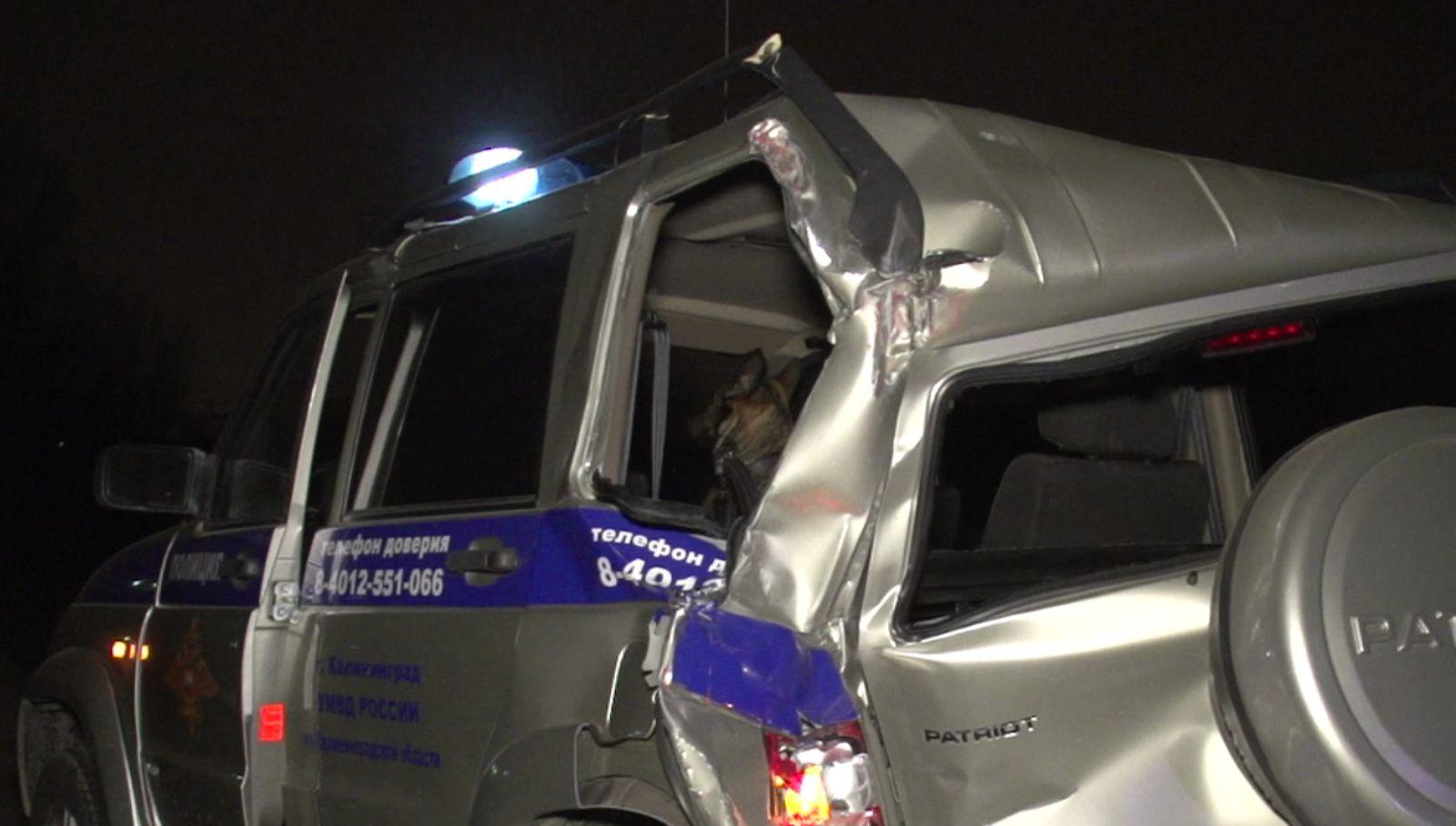 37-летний полицейский умер вДТП под Калининградом