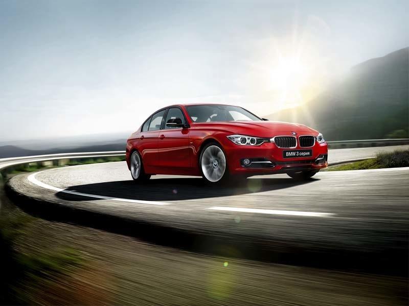 Новый седан BMW 3-Series проходит тесты всерийном кузове
